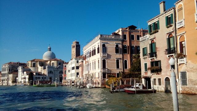 wenecja miasto na wodzie canal grande vaporetto